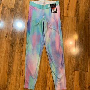 Girls Nike Pro Warm Dri-Fit leggings pants sz Lg